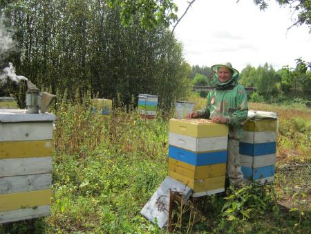 Honey and other beekeeping products